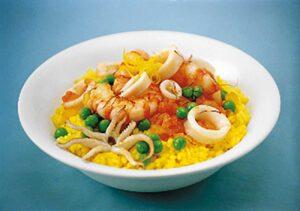 Ριζότο με Καλαμάρια και Γαρίδες