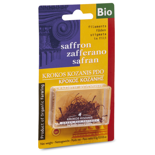 Filaments Organic Red Saffron, 0,5g