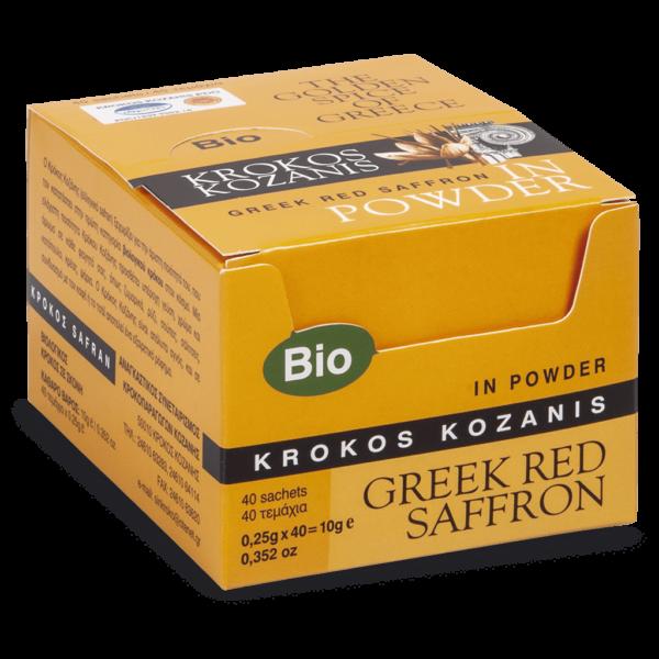 Powder Organic Red Saffron Sachet 0,25g