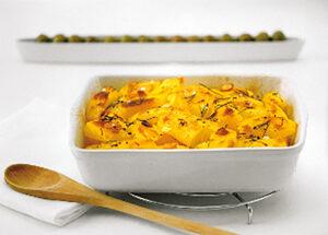 Πατάτες με Κρόκο και Σκόρδο