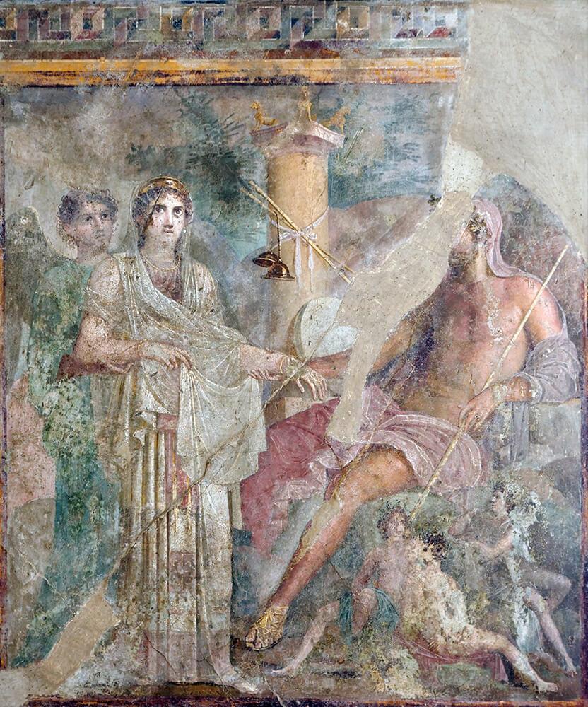 Wedding Zeus Hera Napoli