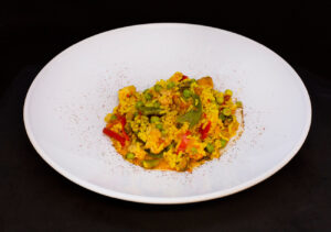 Paella with Saffron