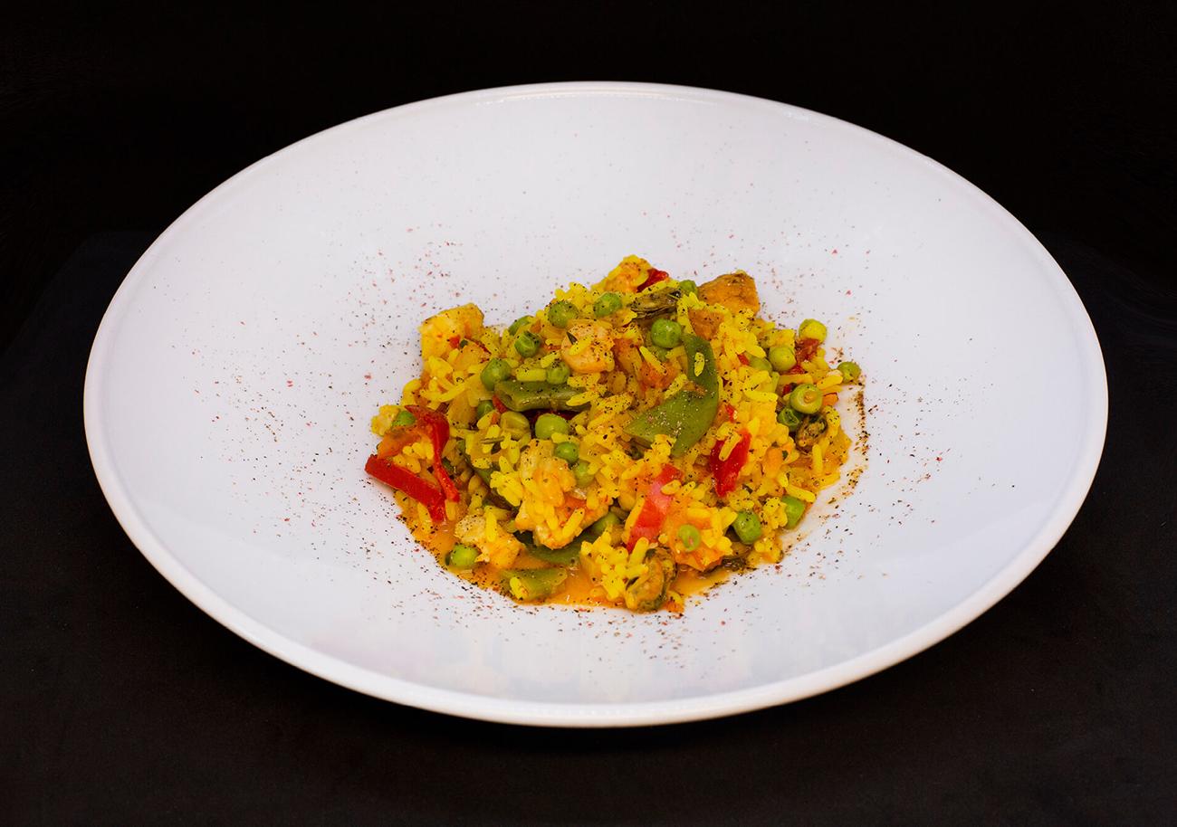 Paella with Saffron