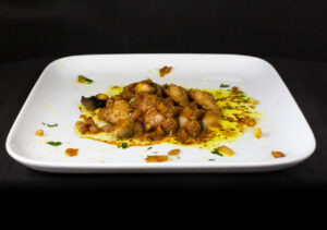 Pan-fried Pork with Saffron